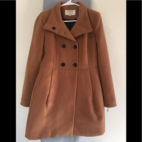 e09ebecb9 Zara Trafaluc wool peacoat Women's Coat sz Medium